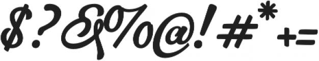 Hurley 1967 Script Alt otf (400) Font OTHER CHARS