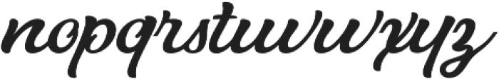 Hurley 1967 Script Alt otf (400) Font LOWERCASE