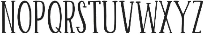 Hurly Serif otf (400) Font UPPERCASE