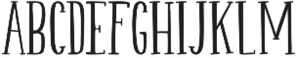 Hurly Serif otf (400) Font LOWERCASE