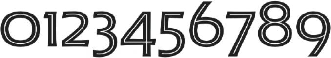 Husk Inline otf (400) Font OTHER CHARS