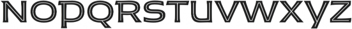 Husk Inline otf (400) Font UPPERCASE