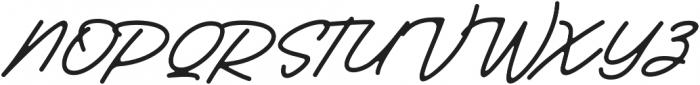 Huskey otf (400) Font UPPERCASE