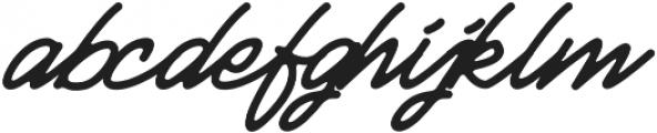 Huskey otf (400) Font LOWERCASE