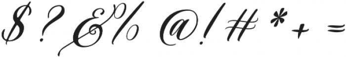 Husna  otf (400) Font OTHER CHARS