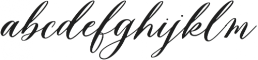 Husna  otf (400) Font LOWERCASE