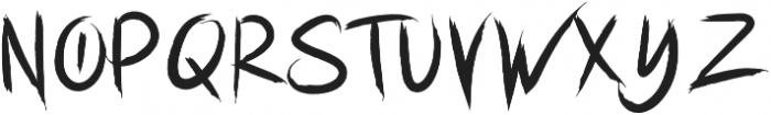 Hustle Hardcore otf (400) Font UPPERCASE