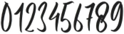 Hustle Pafora otf (400) Font OTHER CHARS