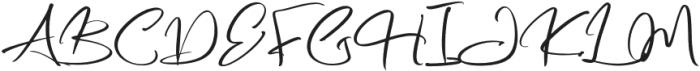 Hustle Pafora otf (400) Font UPPERCASE