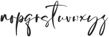 Hustle Pafora otf (400) Font LOWERCASE