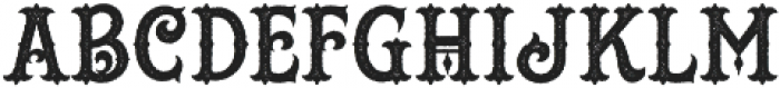 Hustlers Rough otf (400) Font UPPERCASE