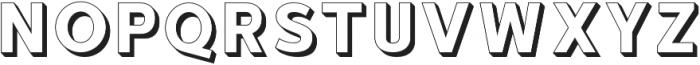 hustle 2 otf (400) Font LOWERCASE