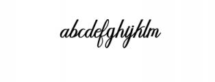 Humilde bold.ttf Font LOWERCASE