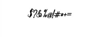 Humilde italic bold.ttf Font OTHER CHARS