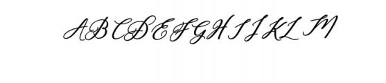 Humilde italic bold.ttf Font UPPERCASE