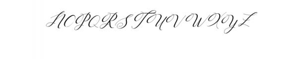 Humilde italic.ttf Font UPPERCASE