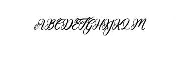 Hunkydory.ttf Font UPPERCASE