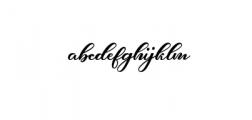 Hunkydory.ttf Font LOWERCASE