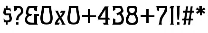 Hullabaloo Font OTHER CHARS