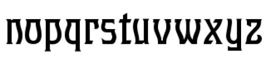 Hullabaloo Font LOWERCASE