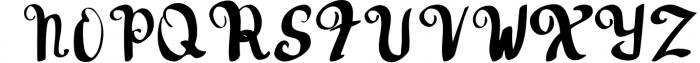 Hudson Handwritten font Font UPPERCASE