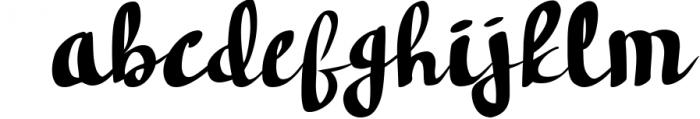 Hudson Handwritten font Font LOWERCASE