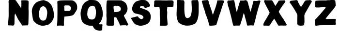 Hugo - The huge handlettered family Font UPPERCASE