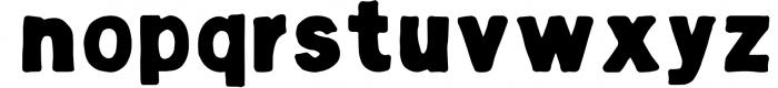 Hugo - The huge handlettered family Font LOWERCASE