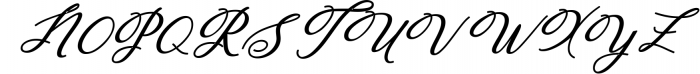 Humilde Script 1 Font UPPERCASE