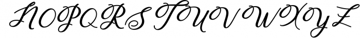 Humilde Script 2 Font UPPERCASE
