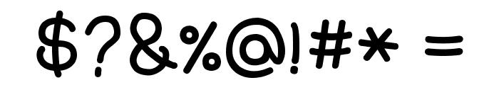 HUDoran152 Font OTHER CHARS