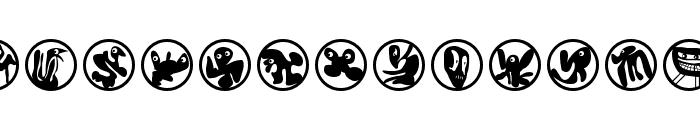HuMunKuli Font LOWERCASE