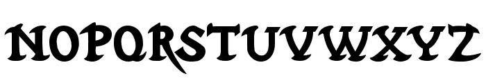 Hubbard Demo Font LOWERCASE