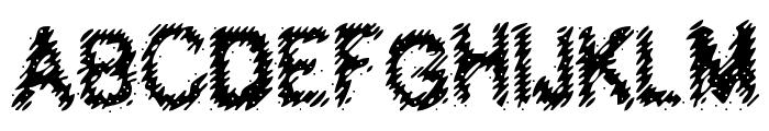 Hubbly Font UPPERCASE