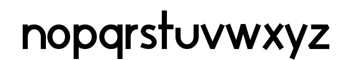 Huelic Bold Font LOWERCASE