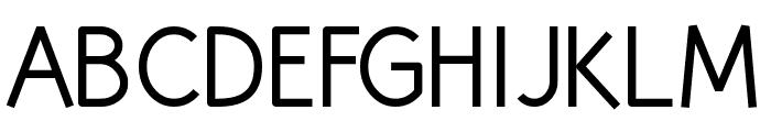 Huelic Regular Font UPPERCASE