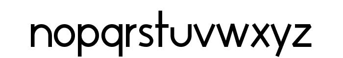 Huelic Regular Font LOWERCASE