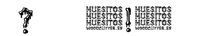 Huesitos Font OTHER CHARS