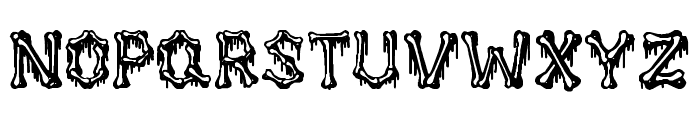 Huesitos Font LOWERCASE