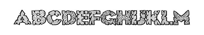 HugeCrunch Font UPPERCASE