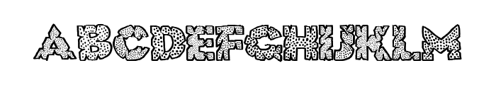 HugeCrunch Font LOWERCASE
