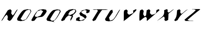 Hugenick Font UPPERCASE