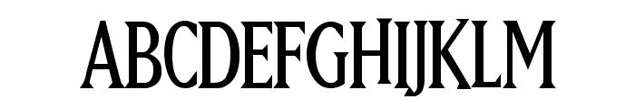 Hugo Cabret Font UPPERCASE