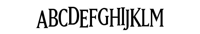 Hugo Cabret Font LOWERCASE