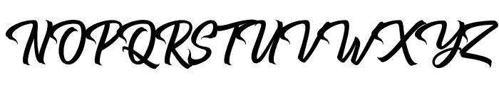 Hugtophia Font UPPERCASE