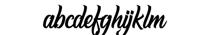 Hugtophia Font LOWERCASE