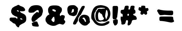 Huhtikuu2 Font OTHER CHARS
