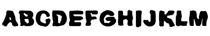 Huhtikuu2 Font LOWERCASE