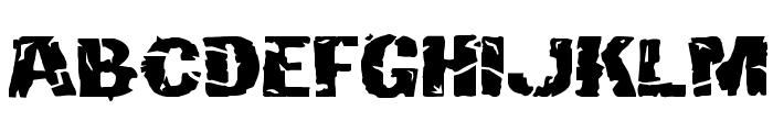 Hulkbusters Font UPPERCASE