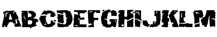 Hulkbusters Font LOWERCASE